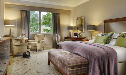Co. Wicklow: 12 Nights for Two with Breakfast, Prosecco, Dinner Credit and Spa & Golf Credit at 5* Druids Glen Resort