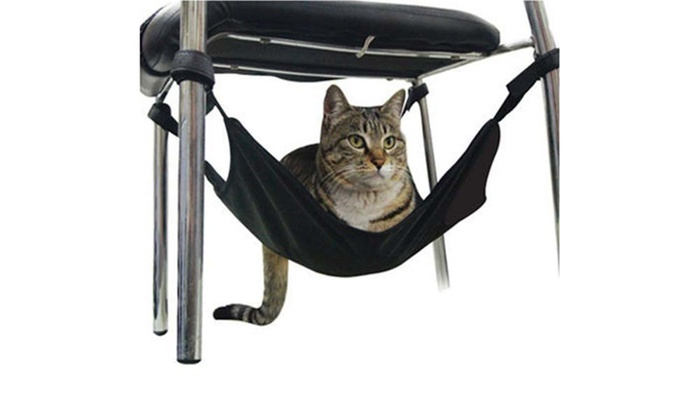 new zealand trading solutions  adjustable velcro cat hammock   one   19  or two     adjustable cat hammock   groupon goods  rh   grouponnz co nz