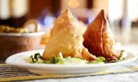 Ayurvedisch-veganes 5-Gänge-Menü für zwei oder vier Personen im Samrat Indisches Restaurant (bis zu 57% sparen*)