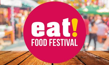 Eat Food Festival, 28–29 July at Priory Park (Up to 25% Off)