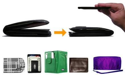 Ultra-Thin Wallets from Big Skinny (52% Off). Two Options Available.