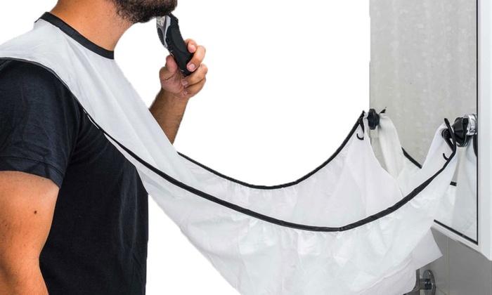 1 2 ou 3 lots de bavoir barbe avec peigne groupon. Black Bedroom Furniture Sets. Home Design Ideas
