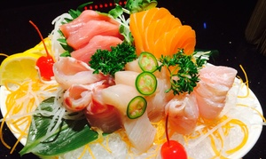 Hanami Brasserie: Dine-In Sushi and Japanese Food for Two or Four at Hanami Brasserie (Up to 52% Off)
