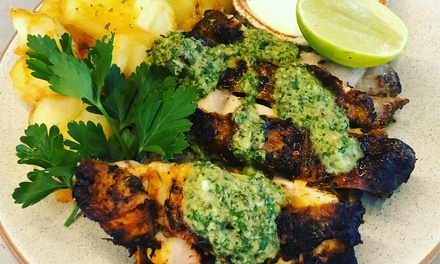 Lunch with Drinks for Two $39 or Four People $78 at Cumbia Bar Kitchen Up to $156 Value