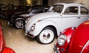 Galeria Pępowo – Muzeum Volkswagena: Muzeum Volkswagena: 2 bilety normalne za 17,99 zł i więcej opcji w Galerii Pępowo (do -43%)