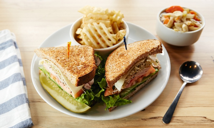 FUEL - Multiple Locations: $12 for $20 Worth of Sandwiches and Smoothies at Fuel