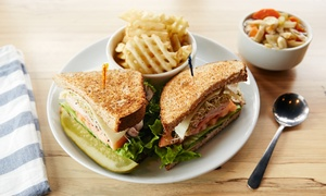 $9 for $20 Worth of Sandwiches and Smoothies at Fuel