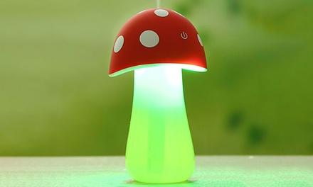 Portable LED Mushroom Humidifier