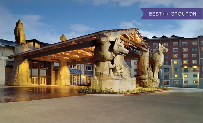 Stay with Daily Water Park Passes and Optional Dining Credit at Great Wolf Lodge Grapevine in Texas; Dates into April