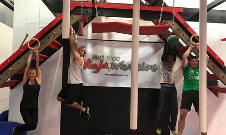 Ninja Warrior Open Gym Passes at Five Star Ninja Warrior (Up to 51% Off). Two Options Available. 9342ed41-968b-48ff-8bee-0d228660d227