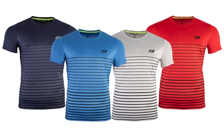 Camiseta de cuello redondo Skechers Frant