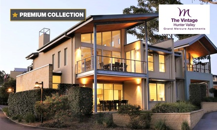 Hunter Valley: 2 or 3Night Escape Adults with Wine at 4* Grand Mercure The Vintage Hunter Valley