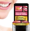 24K Organic Teeth-Whitening and Detoxifying Charcoal Powder (30g)