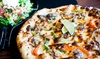 Up to 50% Off at Delicio Coal Fired Pizza