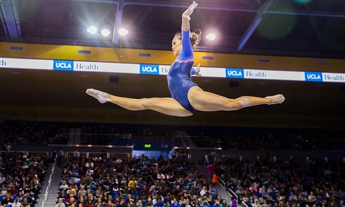 UCLA Bruins Women's Gymnastics on Saturday, January 6, at 6 p m