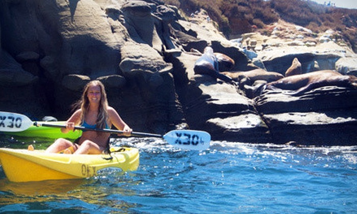 OEX La Jolla - La Jolla Shores: $25 for a 90-Minute Sea Cave Tour for One from OEX La Jolla (Up to $65 Value)