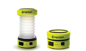 HybridLight: Solar-Powered Flashlights and Camping Lanterns from HybridLight (Up to 39% Off)