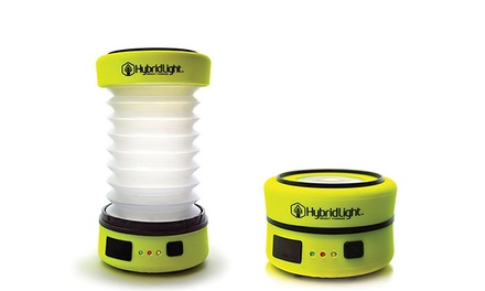 Solar-Powered Flashlights and Camping Lanterns from HybridLight (Up to 39% Off)