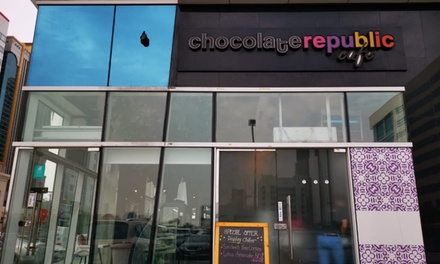 AED 60 or AED 100 Toward Food and Drinks at Chocolate Republic (Up to 52%  Off)