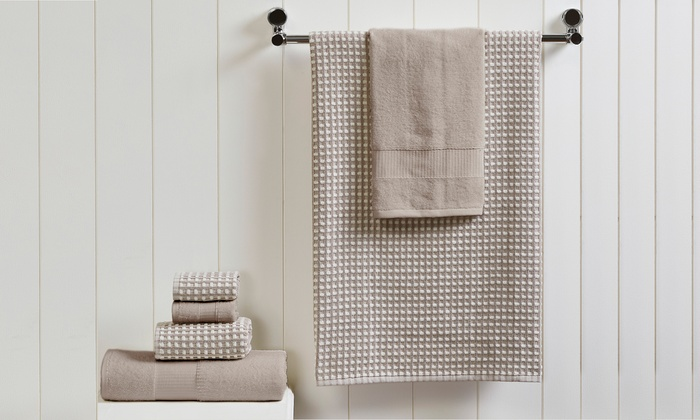 "Clearance Cotton Printed Bath Room Hand Towel Mexico Set of Two 29/""x13/"""