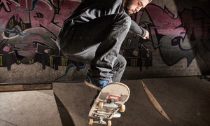 Birthday Party For Up To 10 Or One-month Skate-park Pass For One Or Two At One-9 Skatepark (up To 53% Off)