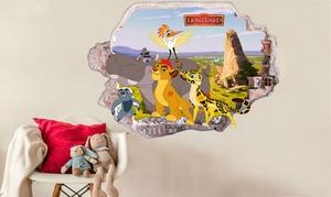 oferta: Vinilo decorativo con diseño de Disney The Lion Guard por 24,90 € (84% de descuento)