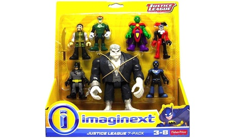 Imaginext Justice League Figures (7-Pack) 3602892e-2b47-11e7-b7d4-00259069d7cc