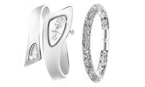 Montre So Charm ornée de Cristaux Swarovski®  Bracelet