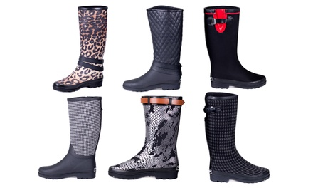 Heavy Rubber Couture Rainboots