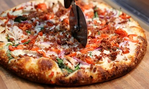 Mr. Mozzarella: CC$24 for a Pizza Meal with Wings and Salad at Mr. Mozzarella – West Kelowna (Up to CC$46.75 Value)