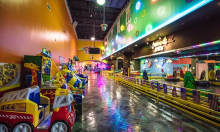 Rides, Activities, Arcades at Funplex (Up to 96% Off). Four Options Available.