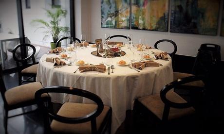 Menú para 2 o 4 con aperitivo, entrante, principal, postre y botella de vino o bebida desde 44,95 € en Ocean Vincci