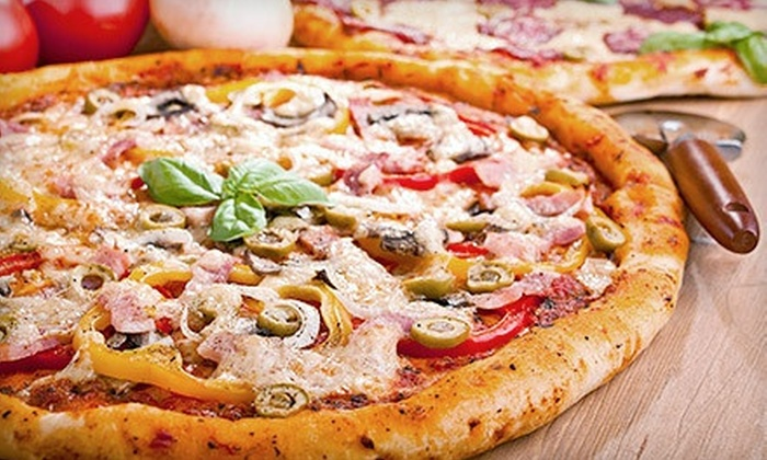 Boston Bay Pizza - Chicopee: Two, Four, or Six Groupons, Each Good for $15 Worth of Pizzeria Eats at Boston Bay Pizza
