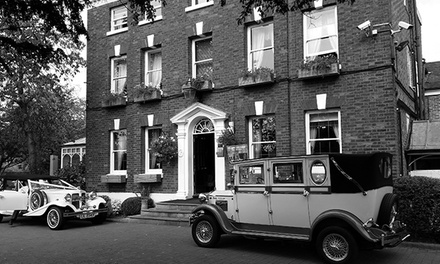Wedding Package for 40 Day Guests and 80 Evening Guests at Etrop Grange Hotel
