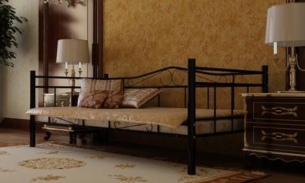 Divano letto in metallo groupon goods for Groupon shopping arredamento
