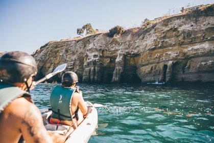 La Jolla Sea Cave Kayak Tour or Rental from Everyday California (Up to 57% Off). Two Options Available.