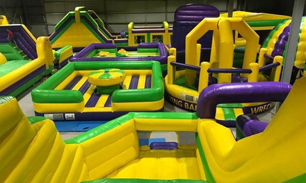 2-Hr Play Centre Entry for 1 ($9), 2 ($15), 3 ($25) or 4 Ppl ($32) at Illawarra Inflatable Play Centre (Up to $60 Value)