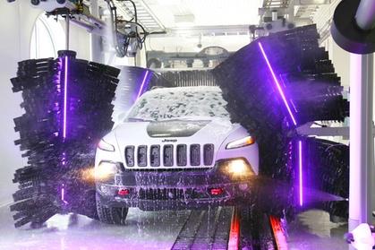 Wheels Protect and Shine Wash at Mr. Glow Express Car Wash (Up to 47% Off)