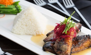 Up to 40% Off at M Asian Fusion Restaurant at M Asian Fusion Restaurant, plus 9.0% Cash Back from Ebates.