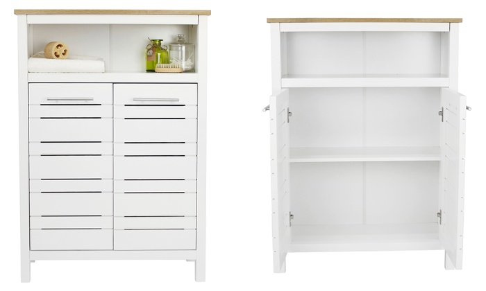 Eden Bathroom Storage Unit ...  sc 1 st  Groupon & Eden Bathroom Storage Unit | Groupon Goods