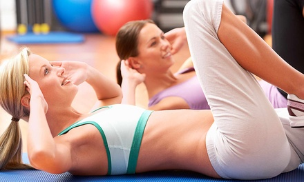 10 or 20 Group Fitness Classes at SPORTSET Health and Fitness Club (Up to 71% Off)