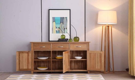 New Oak, Solid Oak Living Room Furniture Collection With Free Delivery