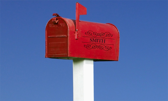 Anderson CMS - Philadelphia: Mailbox Installation with Options for Personalization and Post Box from Anderson CMS (55% Off)