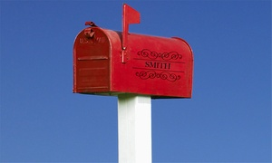 Anderson CMS: Mailbox Installation with Options for Personalization and Post Box from Anderson CMS (55% Off)