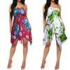 Women's Strapless Short Dress. Plus Sizes Available.