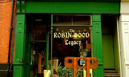 The Robin Hood Experience: Child (£4.95) or Two Adults (£9.95)