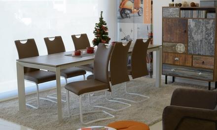 Set 4 sedie janet groupon goods for Groupon shopping arredamento