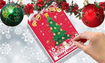 Calendario Avvento Swarovski.Calendario Dell Avvento Natalizio Con Charm Emoji Placcate