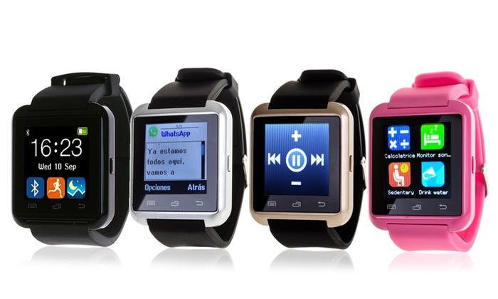 Groupon Goods Global GmbH: Smartwatch multifunción Bluetooth desde 9,99 € (hasta 90% de descuento)