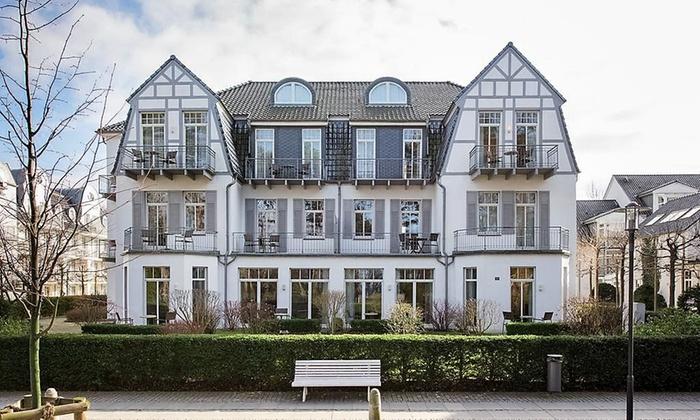 Aparthotel Kühlungsborn Villa am Konzertgarten - Kühlungsborn: Ostsee: 3-8 Tage für 2 Pers. mit franz. Frühstück, Fl. Prosecco, Endreinigung